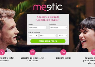 Logo Meetic.be